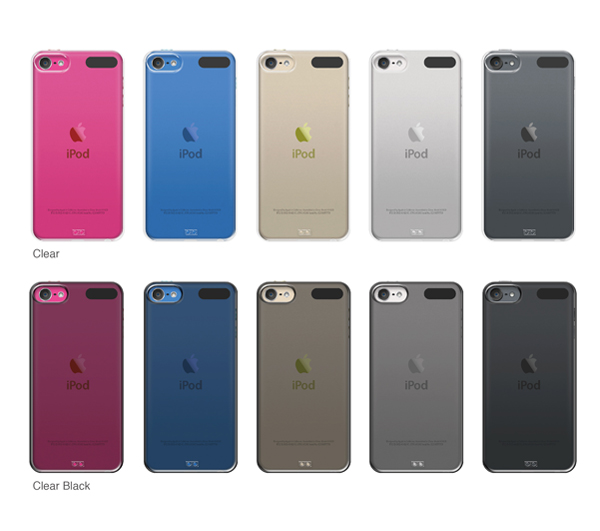 iPod touch2015クリアハードケース展開